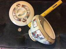 Royal Rochester hand painted Bowl  - Golden Phesant - Fraunfelter China & top