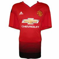 2019-2020 Manchester United Home Football Shirt, Adidas, XXL (Excellent)
