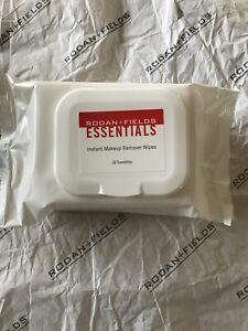 Rodan + and Fields ESSENTIALS Instant Makeup Remover Wipes 30ct