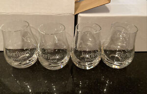 4 - Four Roses Spey Dram Distillery KY Bourbon Whiskey No'sing Tasting Glass New