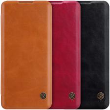 Nillkin Vintage Qin Flip Leather Case Cover Ultra Slim For Huawei Honor Pro Nova