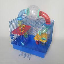Hamster Cage Large Modular Gerbil Small Animal Rat Mouse Integral Water Bottle