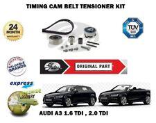 pour Audi A3 1.6 TDI 2.0 16V 2003-2013 Neuf GATES tendeur courroie de