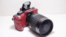 500mm= lens 1000mm on Panasonic G lumix HD Micro 4/3 PEN G1 PL1 G2 PL2 G3 PL3 G5