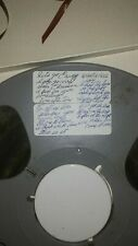 Pre recorded reel to reel tapes