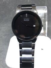 Citizen AU1065-58E Eco-Drive Axiom Date Dial Black Ion Men's Watch #46