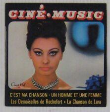 Ciné Music 45 tours Jean Claudric Guy Boyer