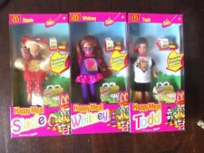 Lot of 3  McDonald's Happy Meal Stacie -Whitney - Todd Barbie 1993
