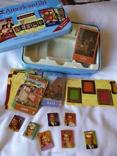 American Girl Card Game Collection 3 Games Tin Kit's Frame Addy Felicity NEW