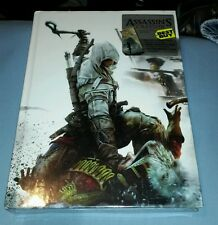 ASSASSINS CREED III 3 COLLECTORS EDITION STRATEGY GUIDE BOOK FA SEALED NEW LITHO