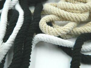 5 Metre Cotton Cord 13 MM (1,00 €/M) 3 Colors