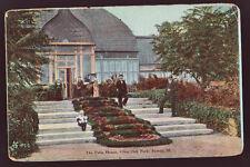 Peoria Illinois Il 1912 Glen Oak park The Palm House People Vintage Postcard