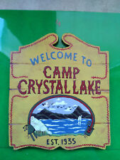 Friday the 13, camp crystal lake sign 1/6 , jason voorhees,sideshow, hot toys,4