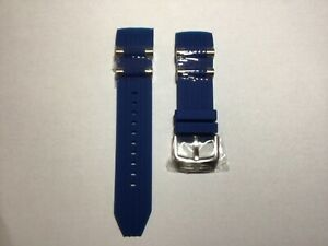 New INVICTA Bolt 26mm Blue Silicone Blue Watch Band