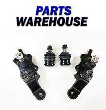 4 Piece Kit Front Upper and Lower Ball Joints Driver and Passenger Side