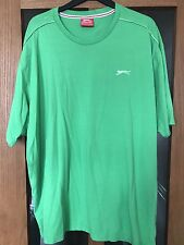SLAZENGER MENS GREEN T-SHIRT SIZE 4XL BNWOT