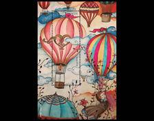 Ballooning - Artwork vintage Daniel Lourenço - arabesques - Brazil 2018 - Ballon
