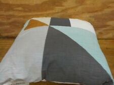 Kas Room Brixton Colorblock 18-Inch x 18-Inch Decorative Pillow in Grey