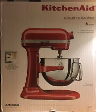 KitchenAid RED Gloss 6-quart Pro 600 Bowl-Lift Stand Mixer NEW IN SEALED BOX NIB