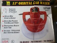 WEN The Detailer 11-Inch Portable Auto Electric Orbital Car Waxer Made in USA