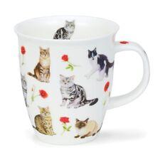 Dunoon Flower Cats rot Mug Henkelbecher Nevis
