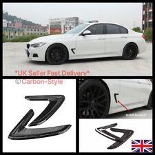 BMW 3 Series F30, F31 Carbon Fiber Finish Side Wing / Fender Vent