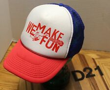 SECTOR 9 SKATEBOARD TRUCKER STYLE HAT RED, WHITE AND BLUE SNAPBACK VGC D21