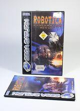 ROBOTICA CYBERNATION REVOLT für Sega Saturn Spiel komplett mit Anleitung und OVP