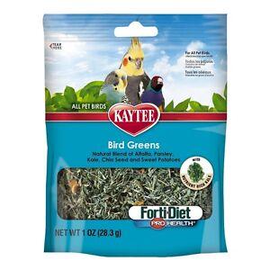 Kaytee Forti Diet Prohealth Bird Greens Chia Sweet Potato 1oz (3 Pack )