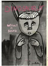 POSTER ADVERT 3/9/94PGN72 DINOSAUR JR : WITHOUT A SOUND 15X11""