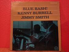 KENNY BURRELL / JIMMY SMITH / BLUE BASH / VERVE LP V-8553 / 1963 / VG
