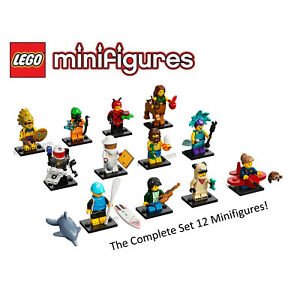 Lego Series 21 Collectible Minifigures Complete Set of 12 - 71029