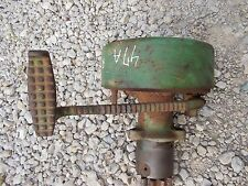 1947 John Deere A JD tractor right brake assembly w/ foot pedal