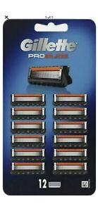 Gillette ProGlide Men's Razor Blade Refills 12 Count **GENUINE BRAND NEW**
