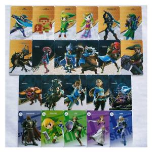 24Pcs Legend of Zelda BOTW NFC Game Cards For Nintendo Switch & Wiix U