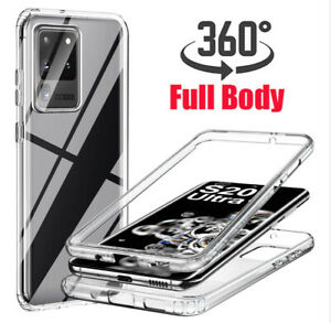 Shockproof Silicone Case For Samsung S21 Ultra S20FE 5G S10 S9 Cover Front Back