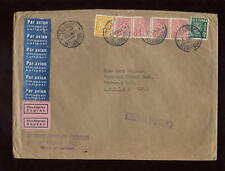 EXPRESS AIRMAIL FINLAND 1954 NAT.STUDENTS UNION COVER