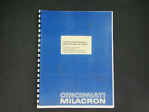 Cincinnati Tool Sharpening Grinder  #3 & #4 Instruct, Service, Repair Manual*21