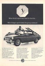1966 MGB/GT British Motor Corporation PRINT AD