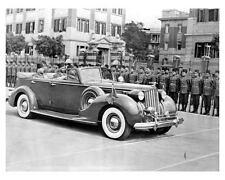 1939 Packard 12 Convertible Sedan Factory Photo King Farouk of Egypt uc6863