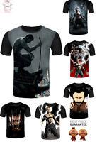 New Wolverine Logan Marvel Comics X-Men Blades T-Shirt Men Women 3D Print S-7XL
