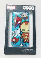 Disney Store MXYZ Marvel Superheros Go iPhone 6 Clip Case  Iron Man Thor Cute