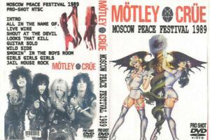 Motley Crue: Moscow Peace Festival 1989