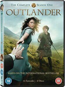 OUTLANDER - COMPLETE SEASON 1 (6 DISC DVD SET) NEW  c