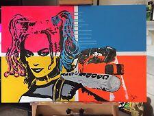 Harley Quinn By Jesse James Street Graffiti Contemporary Pop Batman Joker Art