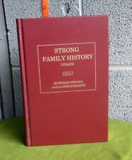 STRONG FAMILY HISTORY UPDATE Volume 1 geneaology book British ancestry