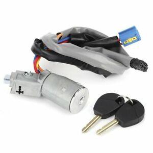 For Citroen Berlingo Peugeot Partner New Ignition Lock Barrel Switch & 2 Keys