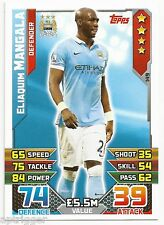 2015 / 2016 EPL Match Attax Base Card (149) Eloiaquim MANGALA Manchester City
