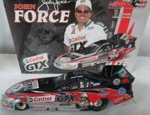 JOHN FORCE 2002 CASTROL GTX 11X CHAMPION 1/24 ACTION DIECAST FUNNY CAR 1/13,080