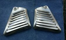 V-Rod v rod vrsc vrsca Louvered Neck Covers- Matching Pair Anodized  Aluminum